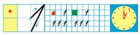 Страница 21 учебник Математика 1 класс 1 часть Моро задание 2