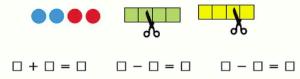 Страница 31 учебник Математика 1 класс 1 часть Моро задание 3