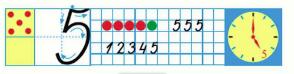 Страница 34 учебник Математика 1 класс 1 часть Моро задание 3