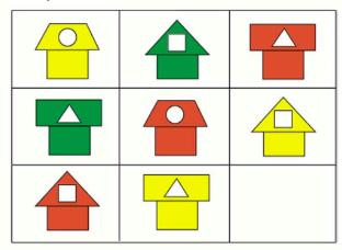 Страница 39 учебник Математика 1 класс 1 часть Моро задание 3