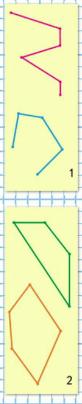 Страница 42 учебник Математика 1 класс 1 часть Моро задание на полях