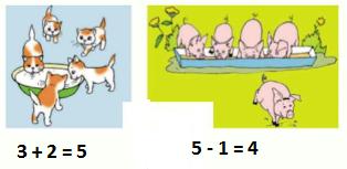 Страница 44 учебник Математика 1 класс 1 часть Моро задание 1 ответ
