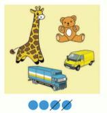 Страница 45 учебник Математика 1 класс 1 часть Моро задание 1 ответ 1
