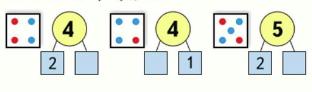 Страница 45 учебник Математика 1 класс 1 часть Моро задание 2