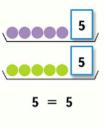 Страница 46 учебник Математика 1 класс 1 часть Моро задание 1 ответ 3