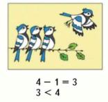 Страница 46 учебник Математика 1 класс 1 часть Моро задание 2 ответ 2