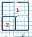 Страница 101 учебник Математика 1 класс 1 часть Моро задание 13 ответ 2