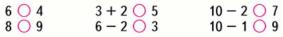 Страница 101 учебник Математика 1 класс 1 часть Моро задание 10