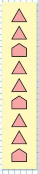 Страница 107 учебник Математика 1 класс 1 часть Моро задание на полях ответ