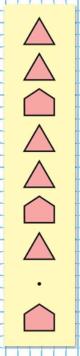 Страница 107 учебник Математика 1 класс 1 часть Моро задание на полях