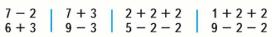 Страница 115 учебник Математика 1 класс 1 часть Моро задание 7