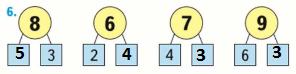 Страница 117 учебник Математика 1 класс 1 часть Моро задание 6 ответ