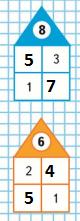 Страница 117 учебник Математика 1 класс 1 часть Моро задание на полях ответ