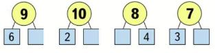 Страница 12 учебник Математика 1 класс 2 часть Моро задание 1