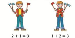 Страница 14 учебник Математика 1 класс 2 часть Моро задание