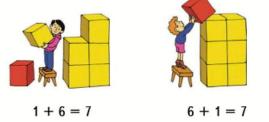 Страница 15 учебник Математика 1 класс 2 часть Моро задание 1