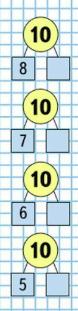 Страница 24 учебник Математика 1 класс 2 часть Моро задание на полях