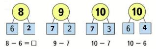 Страница 28 учебник Математика 1 класс 2 часть Моро задание 2 ответ