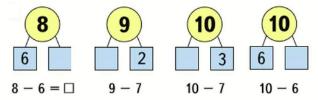 Страница 28 учебник Математика 1 класс 2 часть Моро задание 2
