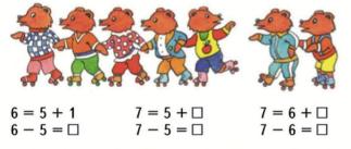 Страница 30 учебник Математика 1 класс 2 часть Моро задание