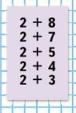 Страница 40 учебник Математика 1 класс 2 часть Моро задание на полях