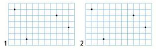 Страница 41 учебник Математика 1 класс 2 часть Моро задание 17