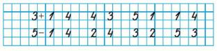 Страница 48 учебник Математика 1 класс 1 часть Моро задание 3