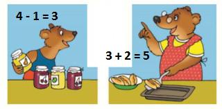 Страница 49 учебник Математика 1 класс 1 часть Моро задание 3 ответ