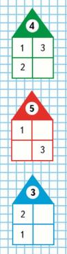 Страница 49 учебник Математика 1 класс 1 часть Моро задание на полях