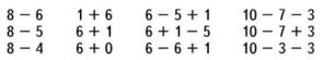 Страница 50 учебник Математика 1 класс 2 часть Моро задание 6