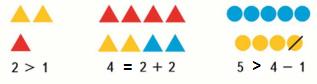 Страница 51 учебник Математика 1 класс 1 часть Моро задание 2 ответ