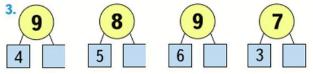 Страница 52 учебник Математика 1 класс 2 часть Моро задание 3