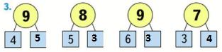 Страница 52 учебник Математика 1 класс 2 часть Моро задание 3 ответ