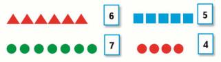 Страница 52 учебник Математика 1 класс 1 часть Моро задание 1