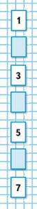 Страница 54 учебник Математика 1 класс 1 часть Моро задание на полях
