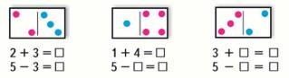 Страница 56 учебник Математика 1 класс 1 часть Моро задание 2