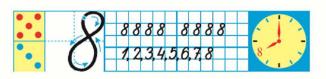 Страница 56 учебник Математика 1 класс 1 часть Моро задание 4