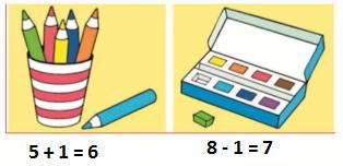 Страница 59 учебник Математика 1 класс 1 часть Моро задание 1 ответ