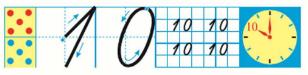 Страница 60 учебник Математика 1 класс 1 часть Моро задание 4