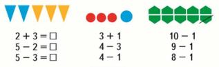 Страница 62 учебник Математика 1 класс 1 часть Моро задание 4
