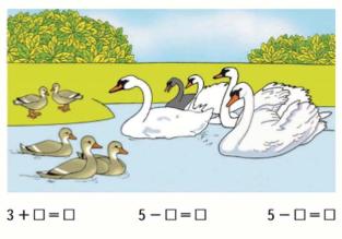 Страница 67 учебник Математика 1 класс 1 часть Моро задание задание 1