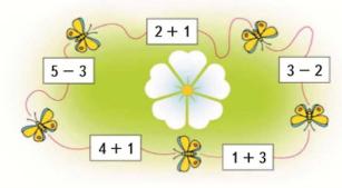 Страница 71 учебник Математика 1 класс 1 часть Моро задание задание 4