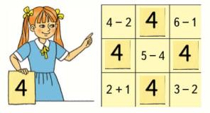 Страница 76 учебник Математика 1 класс 1 часть Моро задание задание 1 ответ