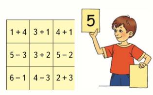 Страница 77 учебник Математика 1 класс 1 часть Моро задание задание 1