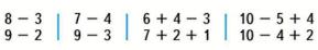 Страница 8 учебник Математика 1 класс 2 часть Моро задание 4