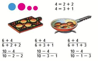 Страница 8 учебник Математика 1 класс 2 часть Моро задание