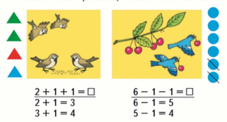 Страница 82 учебник Математика 1 класс 1 часть Моро задание