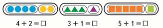 Страница 86 учебник Математика 1 класс 1 часть Моро задание 1