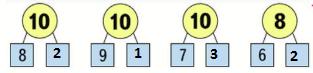 Страница 9 учебник Математика 1 класс 2 часть Моро задание внизу страницы ответ