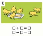 Страница 90 учебник Математика 1 класс 1 часть Моро задание 1 ответ